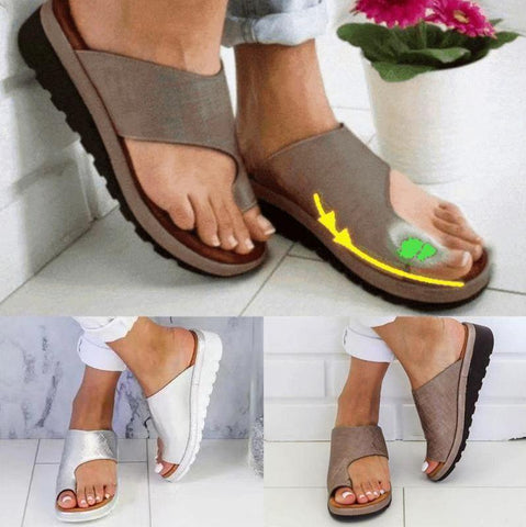 Woman Comfy Toe Correcting Sandals