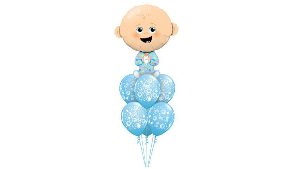 Giant Baby Boy - Balloon Express
