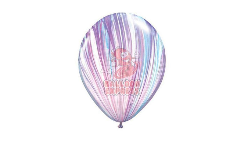 "11"" Fashion Agate -Helium Inflated - Balloon Express"