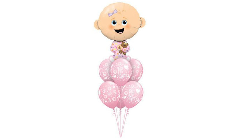 Giant Baby Girl - Balloon Express