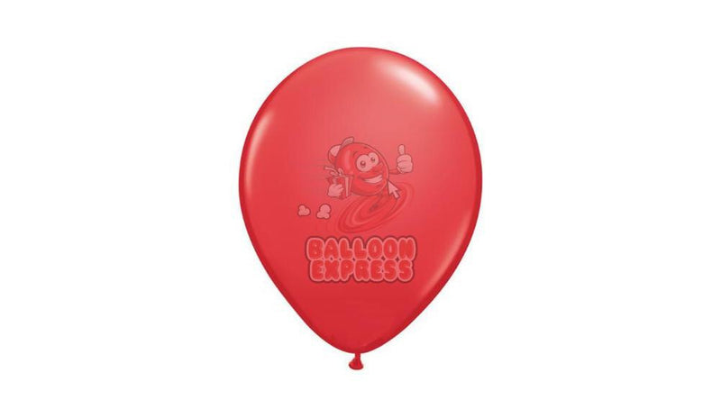 Pearl Red - helium inflated - Balloon Express