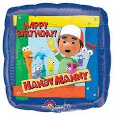 "18""  Handy Manny Square - Balloon Express"