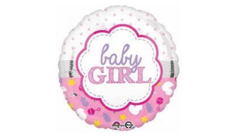 "18"" Baby girl - Balloon Express"