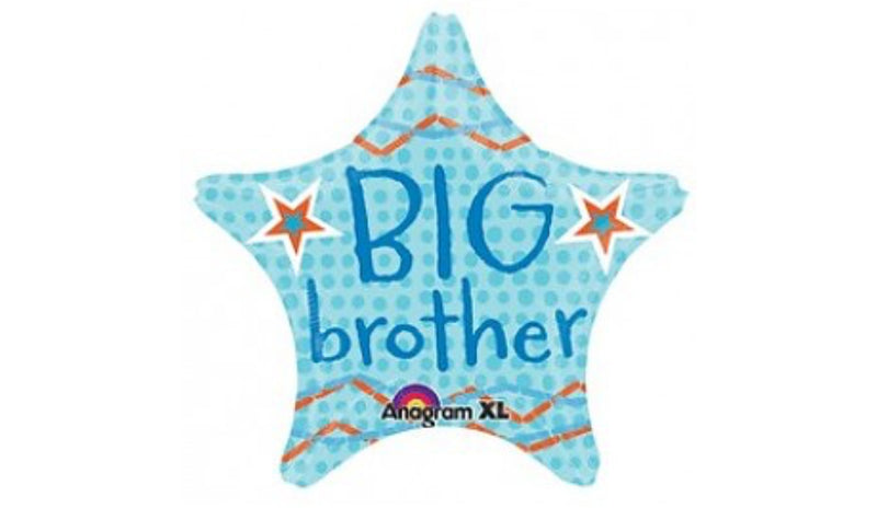 "18"" Big Brother Star Foil - Balloon Express"