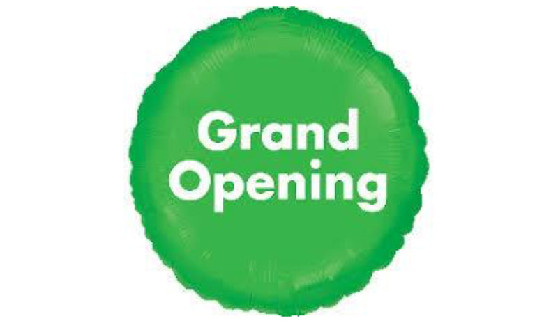 "18"" Grand Opening - Balloon Express"