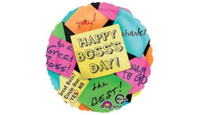 "18"" Happy Bosses Day 31347 - Balloon Express"