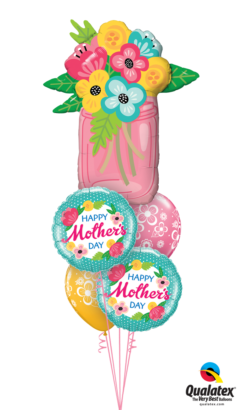 Happy Mother's Day Flower Bouquet - Balloon Express