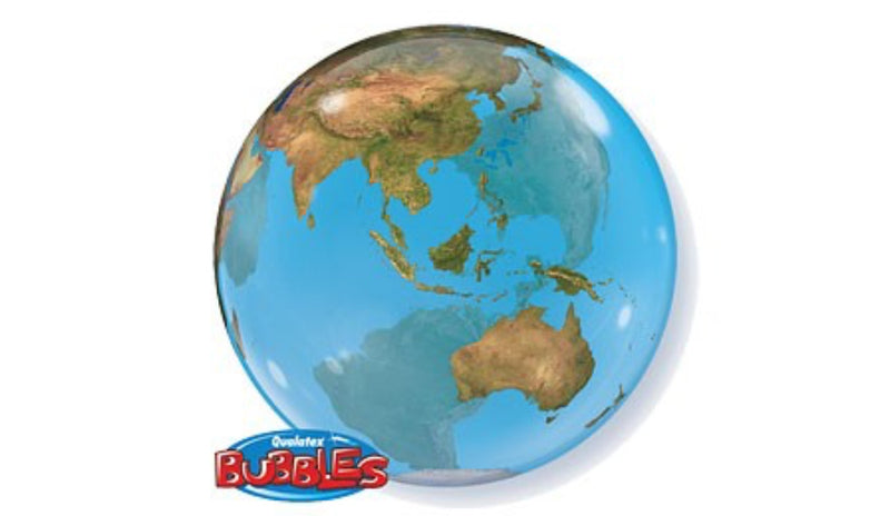 "BUBBLES: 22"" Globe - Balloon Express"
