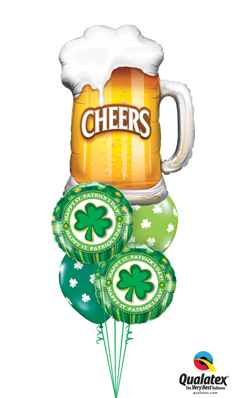 Cheers to St Paddy's - Balloon Express