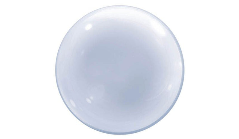 "BUBBLES: Deco Bubble 24"" Clear - Balloon Express"