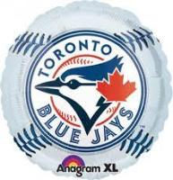 "18"" Blue Jays Foil - Balloon Express"