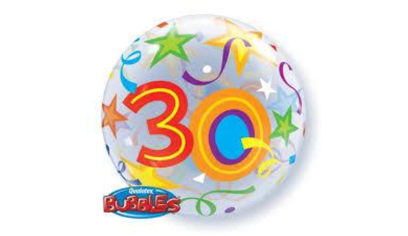 30th Deco Bubble - Balloon Express