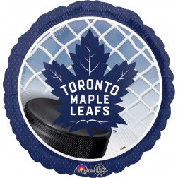 "18""  NHL Maple Leaf - Balloon Express"