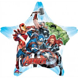 Avengers Super Star Shape - Balloon Express