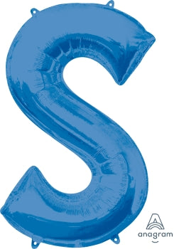 Letter S Foil - Balloon Express