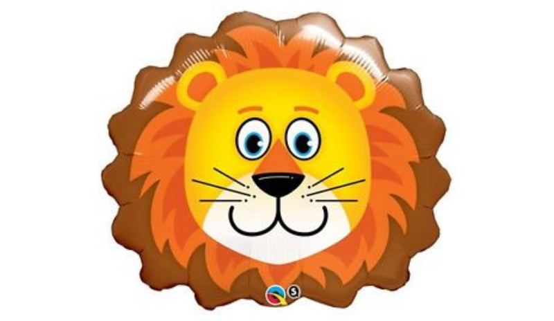 "36"" Super Shape Lion Head - Balloon Express"