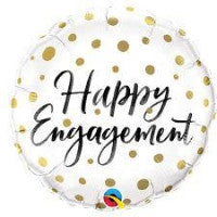 "18"" Happy Engagement foil - Balloon Express"