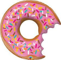 "36"" Shape Bit Donut and Sprinkles Foil - Balloon Express"