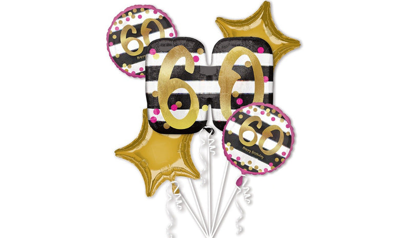 """Oh So Kate"" Pink & Gold Milestone Birthday (Ages 18-70) - Balloon Express"