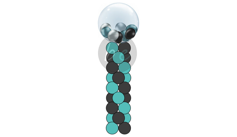 8 Layer Gumball Column - Balloon Express