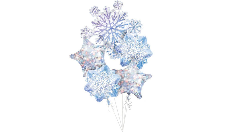 Holographic Snowflake Bouquet