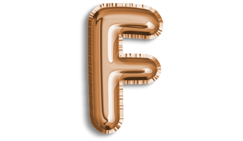 Letter F Foil - Balloon Express