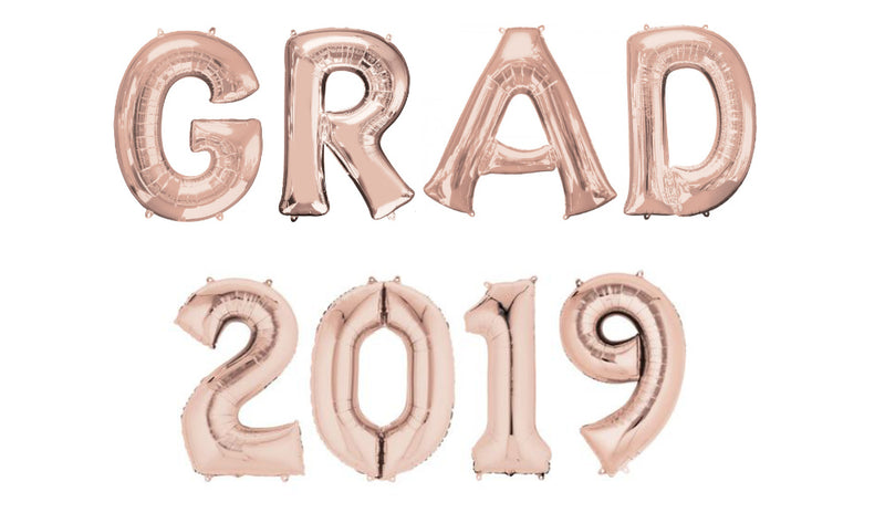GRAD 2019 Arch - Rose Gold