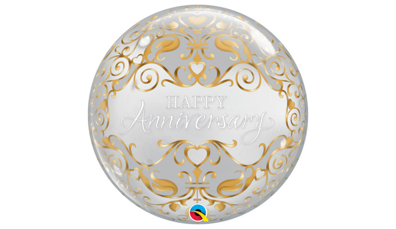 "Happy Anniversary Classic 22"" Bubble - Balloon Express"