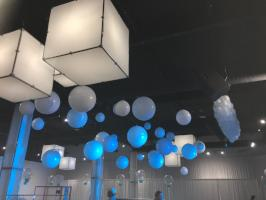 Jumbo Floating Ceiling Balloons - Balloon Express