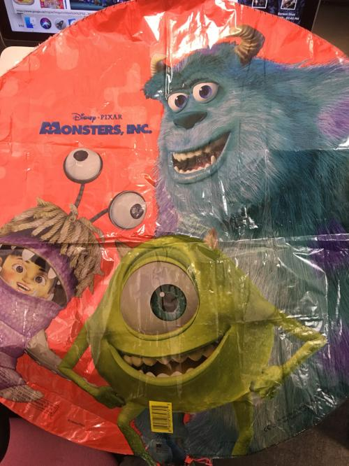 "18"" Monsters Inc. Foil - - Balloon Express"