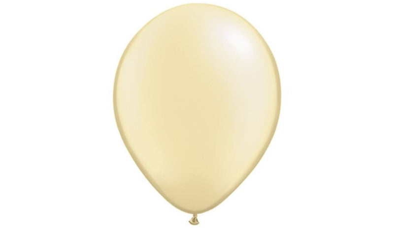 Pearl Ivory -Helium Inflated - Balloon Express
