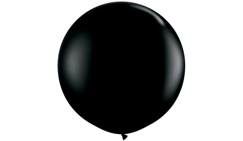 Black - Helium Inflated - Balloon Express