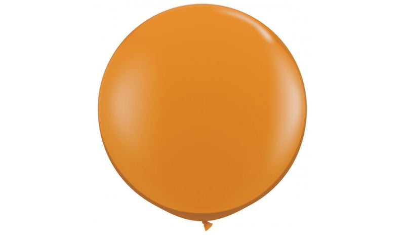 Orange- Helium Inflated