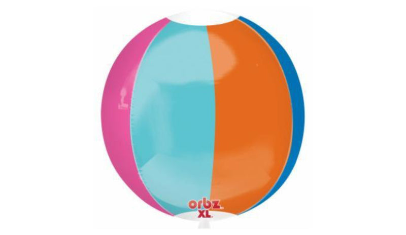 Orbz Foil Balloon - Beach Ball - Balloon Express