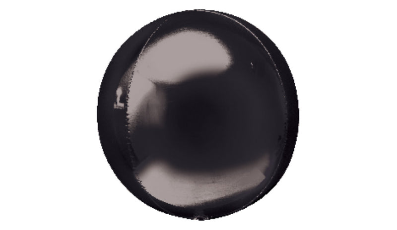 Orbz Foil Balloon - Black - Balloon Express
