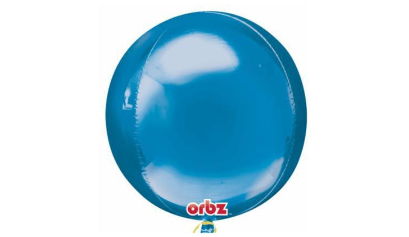 Orbz Foil Balloon - Blue - Balloon Express