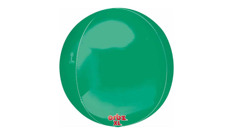 Orbz Foil Balloon - Green - Balloon Express