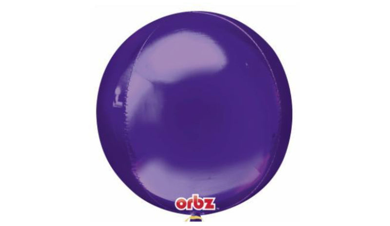 Orbz Foil Balloon  - Purple - Balloon Express