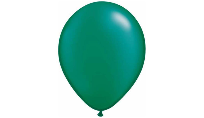 Pearl Emerald Green-Helium Inflated - Balloon Express