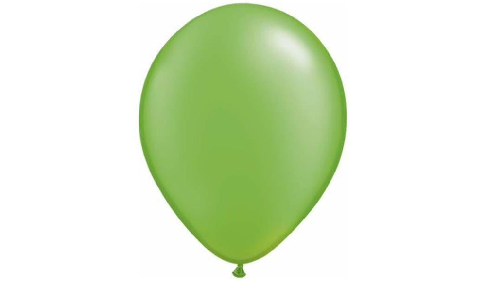 Pearl Lime Green -Helium Inflated - Balloon Express