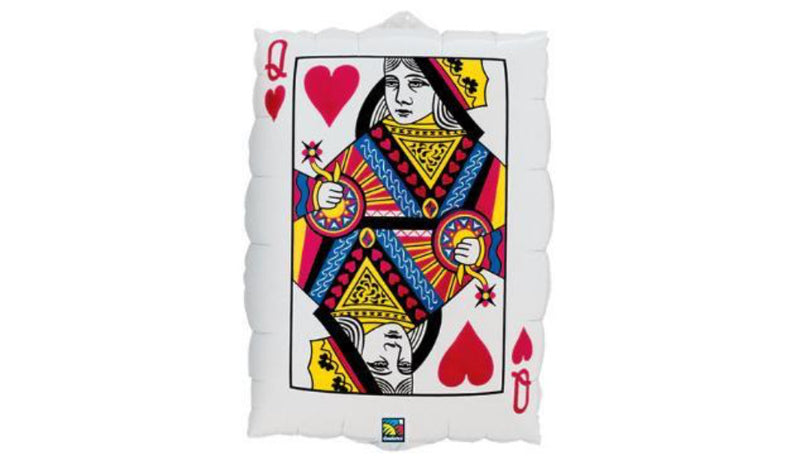 Queen of Hearts and Ace of Spades - Balloon Express