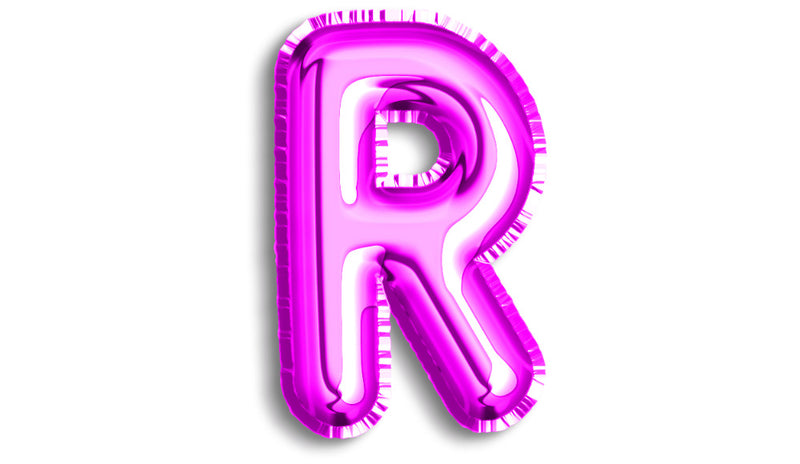 Letter R Foil - Balloon Express