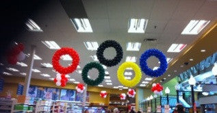 Olympic Rings - Balloon Express