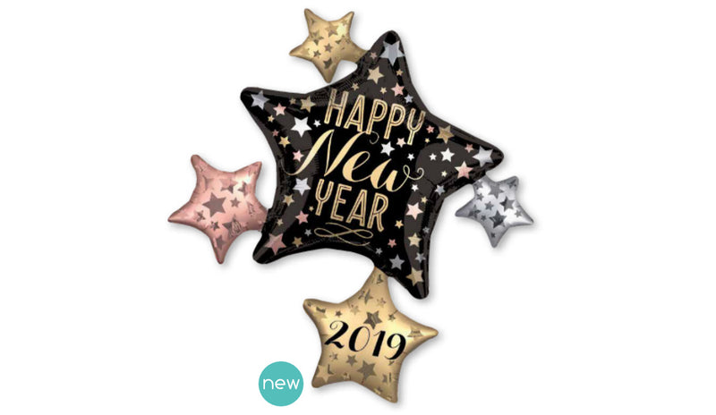 Super Shape New Year Star