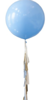 Baby Blue with Tail - Balloon Express
