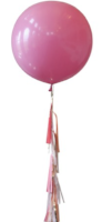 Pink with Tail - Balloon Express