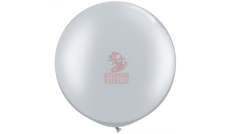 Silver - Helium Inflated - Balloon Express