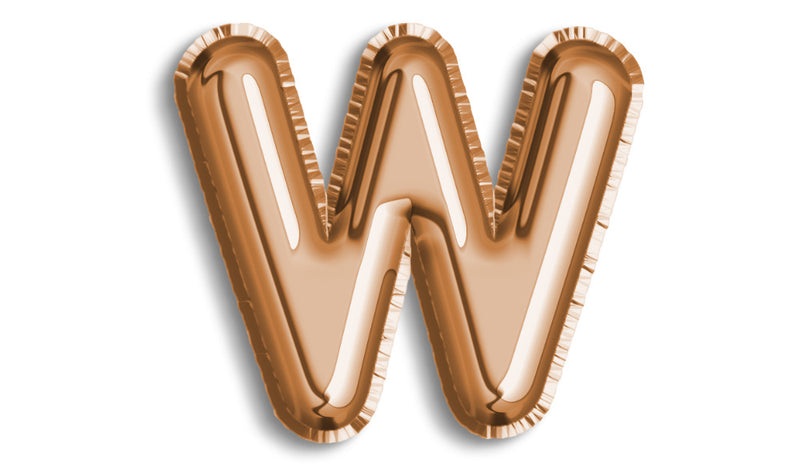 Letter W Foil - Balloon Express