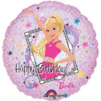 "18"" LICENSED MYLARS: Barbie - Balloon Express"