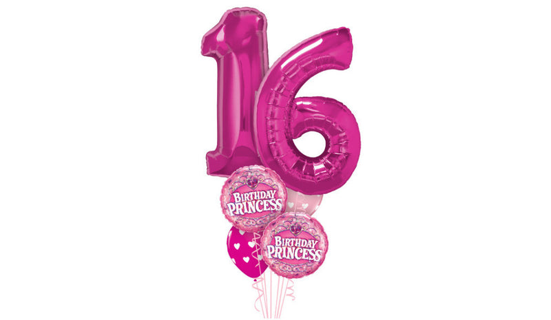 Twin Number Bouquet - Balloon Express